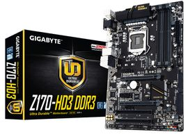Z170-HD3 DDR3 Socket 1151, ATX