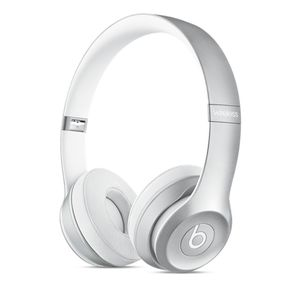 APPLE Beats Solo2 Wireless Headphones - Silver (MKLE2ZM/A)