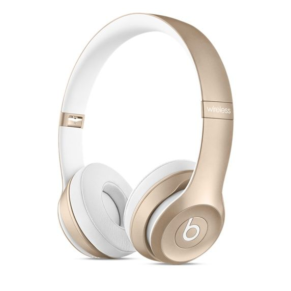 BEATS SOLO2 WIRELESS HEADPHONE GOLD                             IN ACCS
