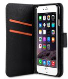 MELKCO KOOSO KOO BOOK APPLE IPHONE 6 BLACK CROSS PATTERN