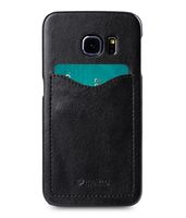 COVER WITH CARD SLOT SAMSUNG GALAXY S6 EDGE BLACK