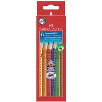 FABER-CASTELL Jumbo Grip Colour  6/ask (110906)