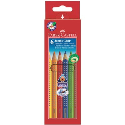 Faber-Castell Jumbo Grip Colour  6/ask