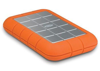 LACIE Rugged Triple 500GB By Neil Poulton, USB 3.0, FireWire 800, Shock proof, 7200RPM (LAC301983)