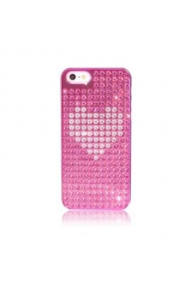 Heart Extravag. iPhone 5 5S SE Rose/ Crys.