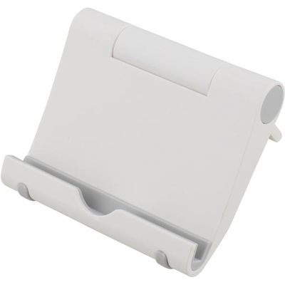 foldable pad stand, White plastic
