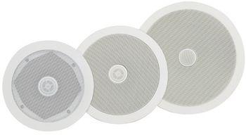 ADASTRA innfellings høyttaler tak 50Watt 16,50 cm Hvit, vegg/tak, lettinstallert (952.534UK)