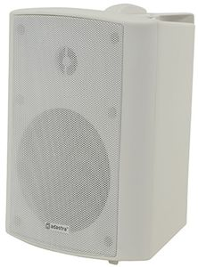 "ADASTRA BP6VW Utendørshøyttaler 60W 100V BP6V-W 100V 6.5"" b.ground speaker white (952.816UK)"