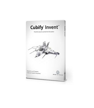 3D SYSTEMS CUBIFY INVENT WINDOWS SITE LICENSE 25 SEATS            EN BKCD (391223)