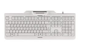 CHERRY KC 1000 SC WHITE-GREY KEYBOARD USB UK                  EN PERP (JK-A0100GB-0)