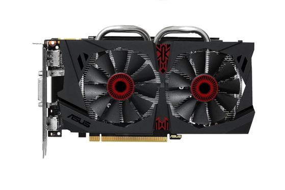 GeForce STRIX GTX 950 2GB PhysX PCI-Express 3.0, DirectCU II, GDDR5, DL-DVI-I, native-HDMI,  DisplayPort