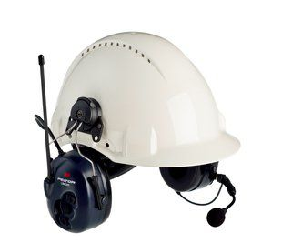 PELTOR LITECOM LCP3 PMR 446 EAR DEFENDER HELMET      IN ACCS