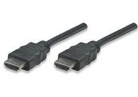 HDMI-Kabel High Speed A -> A St/St 1.00m geschirm