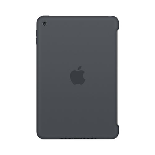 APPLE IPAD MINI 4 SILICONE CASE CHARCOAL GRAY ACCS (MKLK2ZM/A)