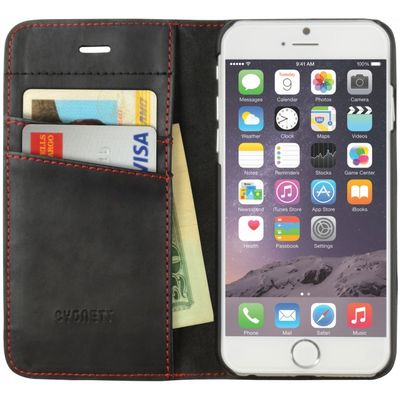 Cygnett iPhone 6 Flip Wallet Case /Black