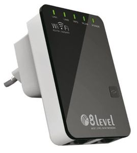 8level WRP-300 Wireless N300 2T2R repeater router 1xWAN/ LAN,  1xLAN (WRP-300)