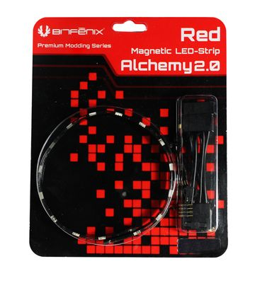 Alchemy 2.0 Magnetic LED-Strip - 30cm, 15 LEDs, rot