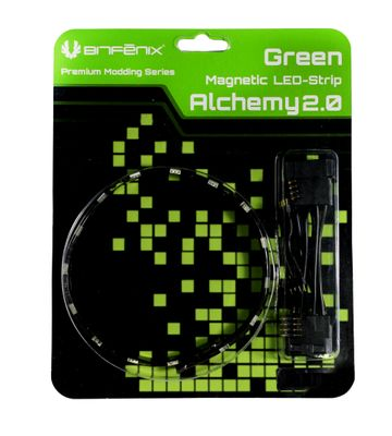 Alchemy 2.0 Magnetic LED-Strip - 12cm, 6 LEDs, grün
