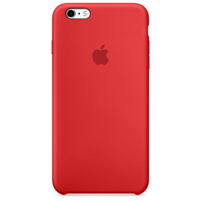 IPHONE 6S PLUS SILICONE CASE (PRODUCT)RED