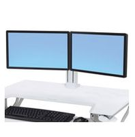 ERGOTRON WORKFIT DUAL MONITOR KIT WHITE (97-934-062)