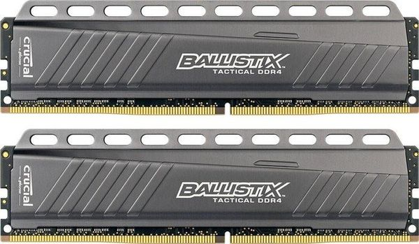 Ballistix Tactical 8GB DDR4, 2x288, 2666Hz