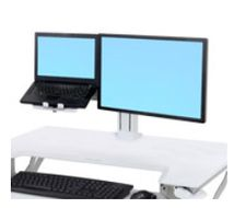 ERGOTRON WORKFIT LCD & LAPTOP KIT WHITE CRTS (97-933-062)