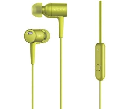 SONY IN EAR-HEADSETHIGH-RES NOISE CANCELLING YELLOW          IN ACCS (MDREX750NAY.CE7)