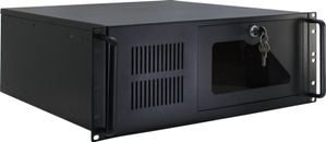 IPC 4U-4088-S Rackversion ATX Ingen strømforsyning Sort