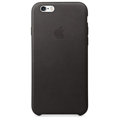 IPHONE 6S LEATHER CASE BLACK .