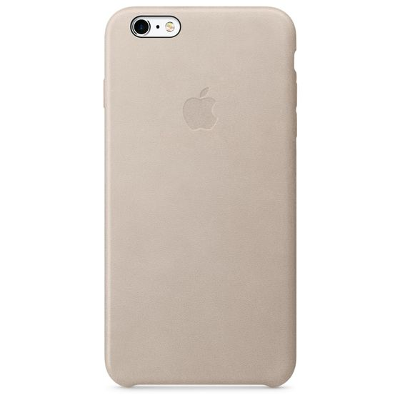 iPhone 6s Plus Leather Case Rose Gold