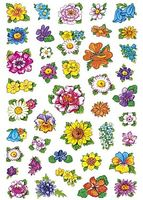 Stickers HERMA Decor blommor