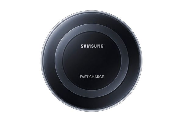 SAMSUNG Wireless Charging Pad, Black Charging Plate Black Fast Charger (EP-PN920BBEGWW)