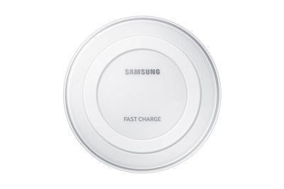Wireless Charging Pad, White Charging Plate White Fast Charger