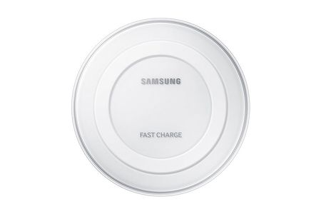 SAMSUNG Wireless Charging Pad, White Charging Plate White Fast Charger (EP-PN920BWEGWW)
