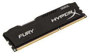 4GB 1600MHZ DDR3L CL 10 DIMM 1.35V HYPERX FURY BLACK