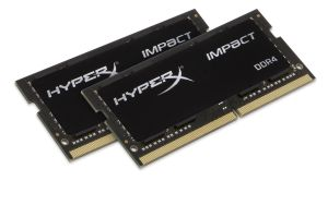 16GB 2133MHZ DDR4 CL13 SODIMM (KIT OF 2) HYPERX IMPACT