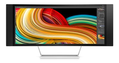 HP Z Display Z34c 34-inch Ultra Wide Curved Display (K1U77A4#ABB)