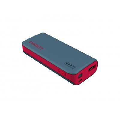 Cygnett Sport 4400mAh powerbank 1 Port/1_0A Red/Grey