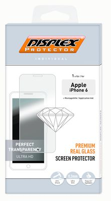 DISPLEX REAL GLASS PROTECTOR IPHONE 6 ACCS
