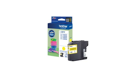 INK CARTRIDGE YELLOW 260 PAGES FOR MFC-J880DW SUPL