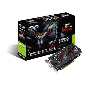 GF STRIX-GTX950-DC2-2GD5-GAMING 2GB GDDR5 1026MHZ 2XDVI HDMI DP  IN CTLR