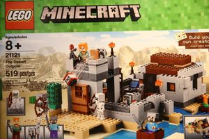 Minecraft 21121 The Desert Outpost