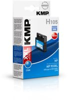 H105 ink cartridge cyan comp. with HP CN 054 AE 933 XL
