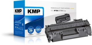 KMP H-T163 Toner black compatible with HP CF 280 A (1235,6000)