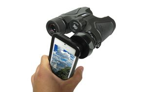 Carson HookUpz iPhone 5 Case & Binocular Adapter