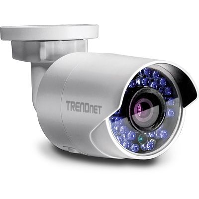 TRENDnet WIFI DAY/NIGHT NETWORK CAMERA OUTDOOR 1.3MP                    IN CAM (TV-IP322WI)