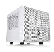 Thermaltake CORE V1 SNOW EDITION MINI-ITX CHANGEABLE SIDE PANELS 20CM FAN CBNT