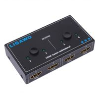 LIGAWO HDMI Switch 1->2 oder 2->1 bidirektional (6518760)