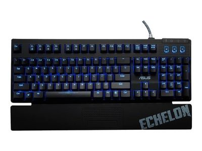 ASUS Tastatur Asus Echelon Mechanical Gaming Keyboard dt. Layout (90YH0041-BCGA00)