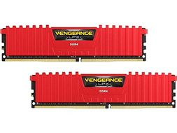 V LPX 16GB DDR4 Red 2x288, 3000MHz